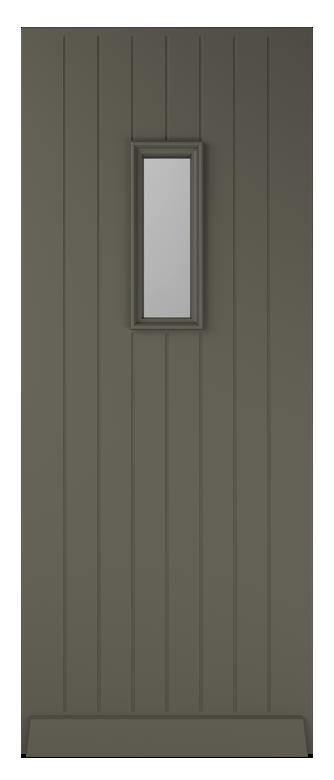 landelijke voordeuren