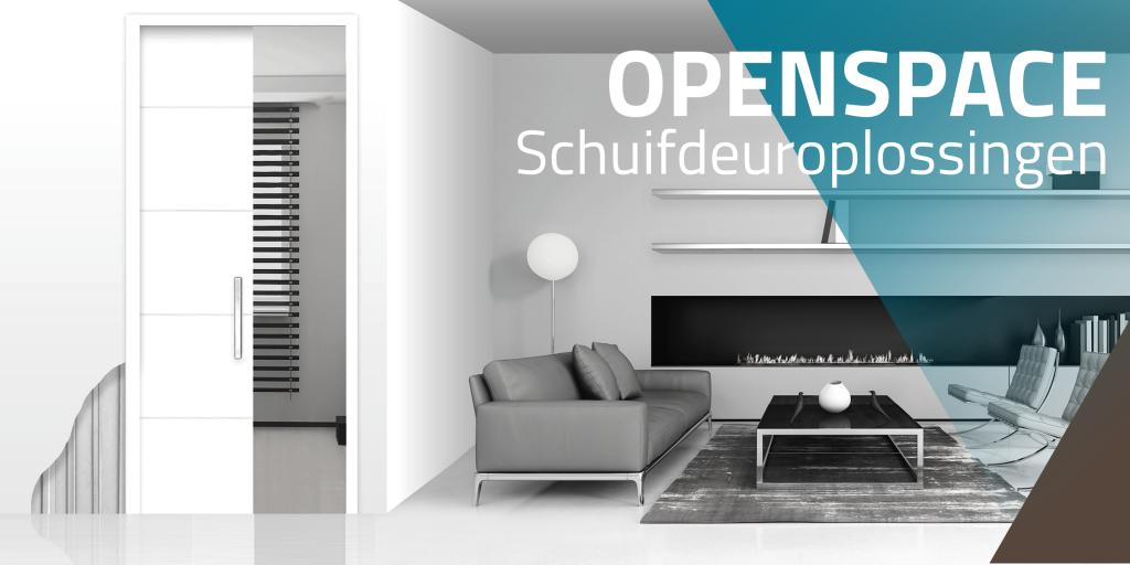OpenSpace schuifdeursysteem