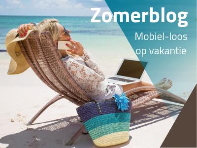 zonder mobiel op vakantie